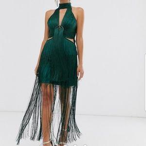Fringe gatsby dress